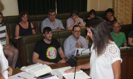 Noelia García Castillo toma posesión como concejal del Partido Popular