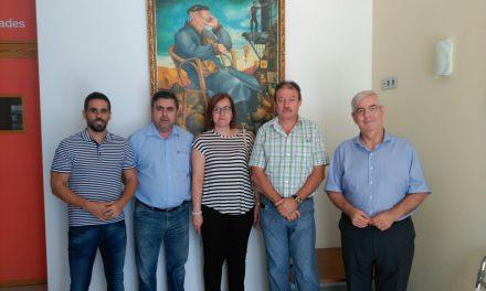 El Grupo Municipal del PP ha visitado esta mañana el Centro de Día Marín Padilla