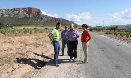 La Consejería de Fomento remodelará la carretera que comunica Jumilla con Fuente Álamo (Albacete)