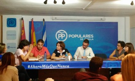 """""""El Partido Popular de Jumilla NO IMPROVISA, tenemos proyecto y trabajamos para mejorar nuestro municipio y el bienestar de sus vecinos""""."""