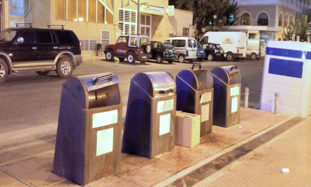 SOLUCIONADO – Tapas de contenedores soterrados rotas en Avda. de Levante