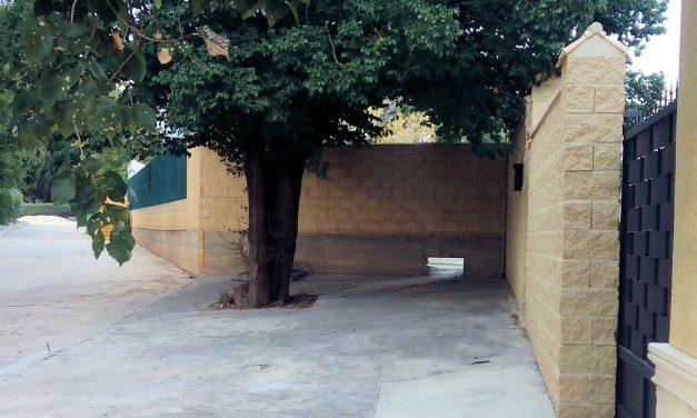 Desagüe irregular en piscina pública de la Alquería