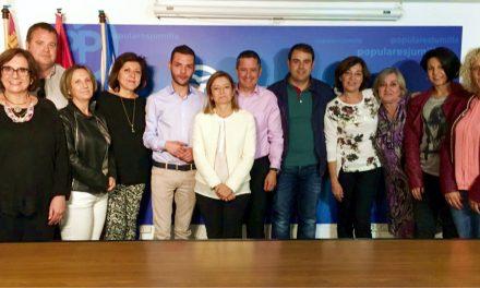 La junta directiva del Partido Popular de Jumilla se reúne para tratar diferentes temas de actualidad municipal y nacional