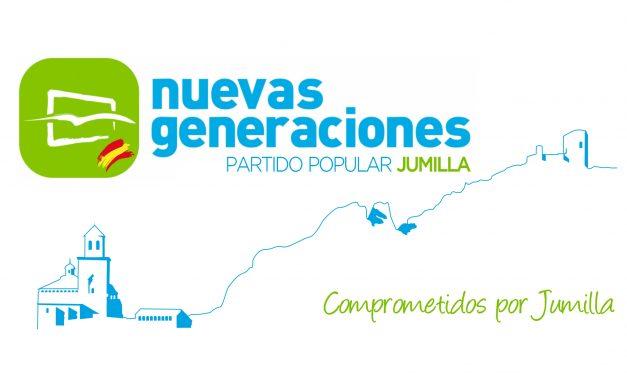 """""""Nuevas Generaciones del Partido Popular de Jumilla continua su hoja de ruta"""""""
