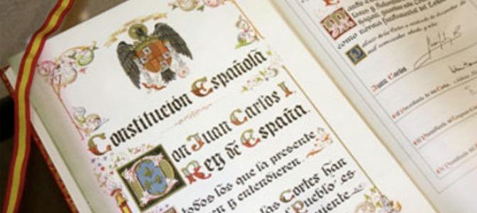 El Grupo Municipal Popular presenta una moción sobre conmemoración del 40º Aniversario de la Constitución Española