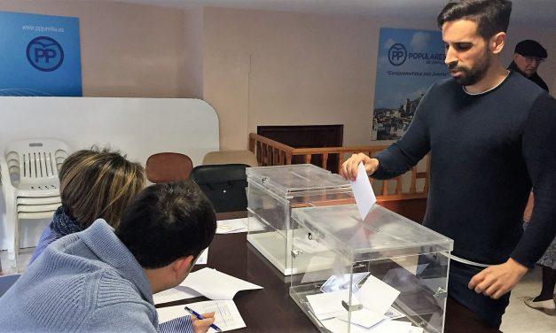 López Miras obtiene el respaldo del 100% de los votos de los afiliados de Jumilla inscritos al 17 Congreso Extraordinario del PPRM